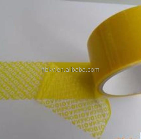 Polypropylene Confidential Tamper-Evident Security void Tape