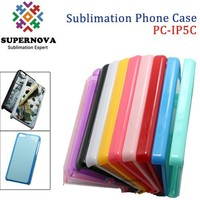 Plastic Custom Silicone Blank Case for iPhone 5C