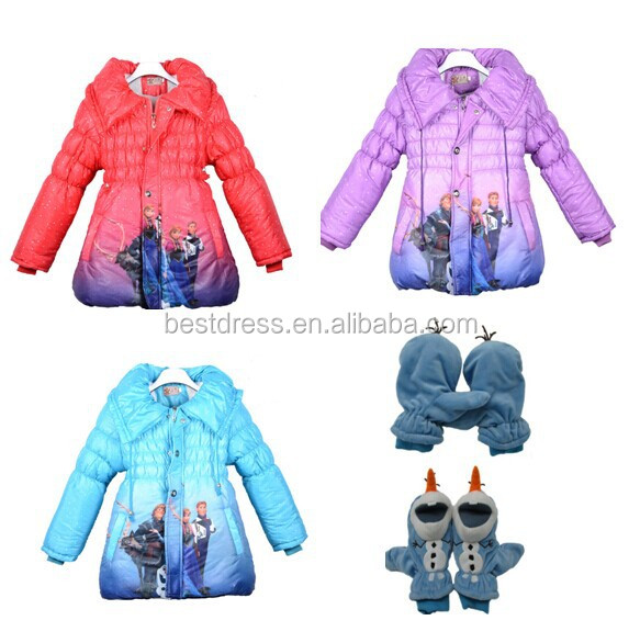 Girls Gender and <strong>7</strong>-10years Age frozen coat