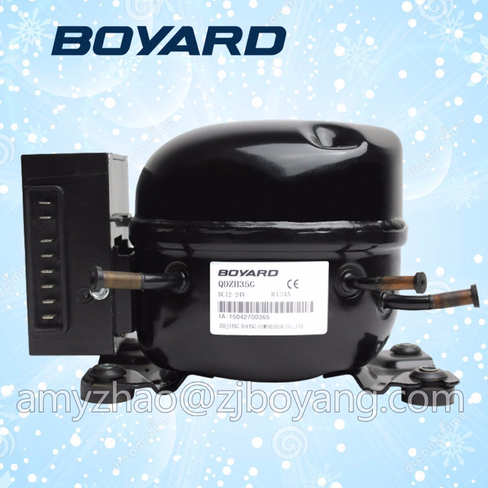 Zhejiang BOYARD qdzh35g 12v 24v dc refrigerator <strong>compressor</strong> for portable fridge