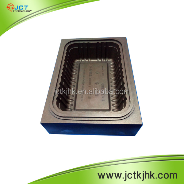 OEM Precision Custom Plastic Take Away Food Container Mould.Black Anodizing Aluminum Mould