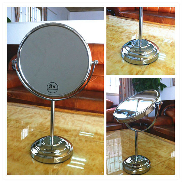 metal table mirror