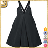 2016 American fashion summer plus size v-neck spaghetti strap cocktail dress for women