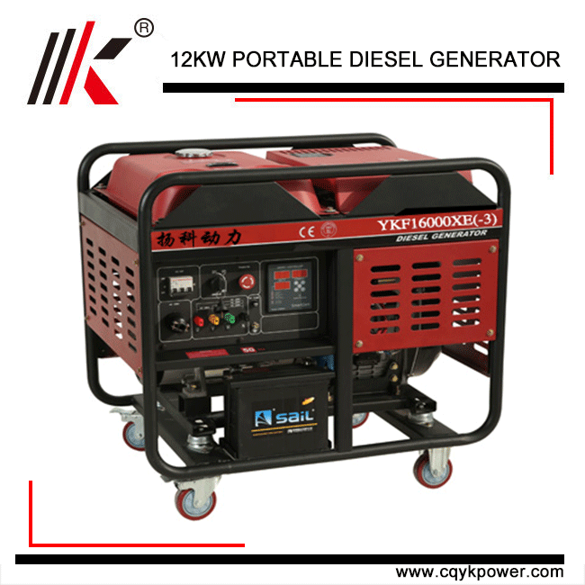 CHINA INDUSTRIAL PLANT 12KW 15KVA ELECTRIC DYNAMO PRICE IN INDIA WITH PORTABLE GENERATOR PARTS FOR DIESEL GENERATOR
