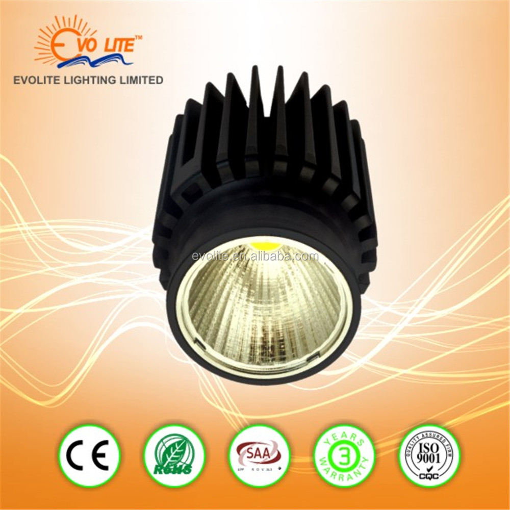IP65 Led Downlight Citizen cob 7W 9W 15W 18W 5Years Warranty led downlight with 50mm cut out