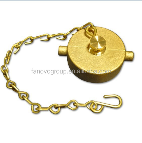 EN14420 Fire hydrant use Brass Hose Cap