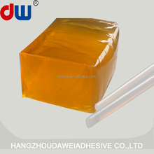 Hot melt adhesive glue for electric string