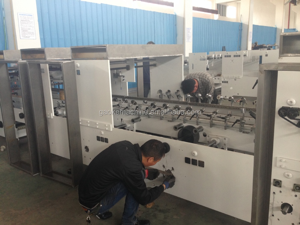 Full Automatic 4/6 Corner Box Folder Gluer
