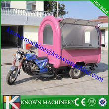 KN-FR220I motorcycle food cart,electric tricycle food cart outdoor