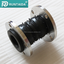 2017 sell hot Flanged screwed flexible NBR rubber expansion joint