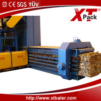 CE, ISO9001 certificate best price different capacity horizontal full automatic cardboard baler for sale