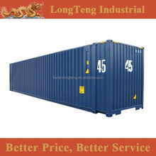 Cargo steel container type 10 20 40 45 feet container
