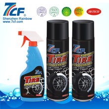 automobile wheel and tire shine products