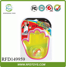 Hand shape sport set,outdoor suction ball game set for kids,suction cup ball toy