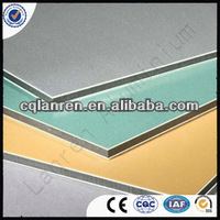 outdoor partition material acp / pvdf acp sheet for wall cladding