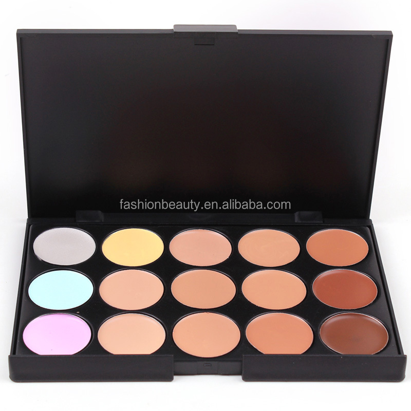 15 colors concealer palette 15 colors base cream palette profession cosmetic base cream