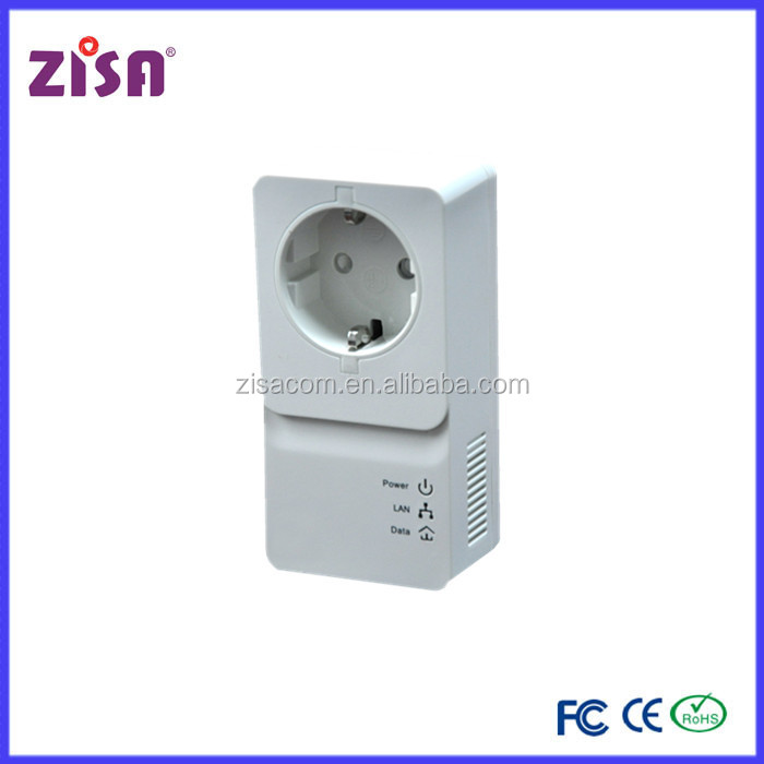 Zisa product powerline 1200 mbps ethernet over power line