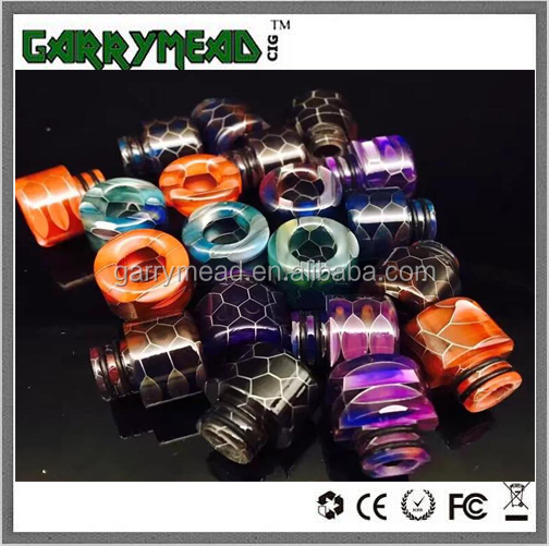 2017 Garrymead sell 810 drip tip,vape drip tip,resin 510 drip tips,810 drip tip resin