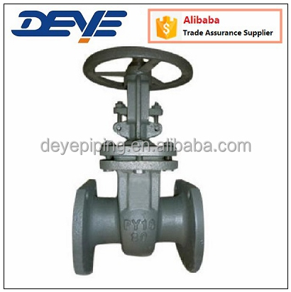 Gost Russia Standard Carbon Steel Gate Valve with PN16 PN25