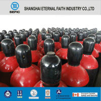 ISO9809 High Pressure Seamless Steel Cl2 Gas Cylinder