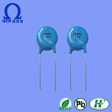 QCR electronic component disc ceramic capacitor 100v 104J 0805 P1 for general purpose