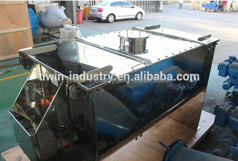 ribbon type mixer /paddle mixer for chemical fetilizer industries application