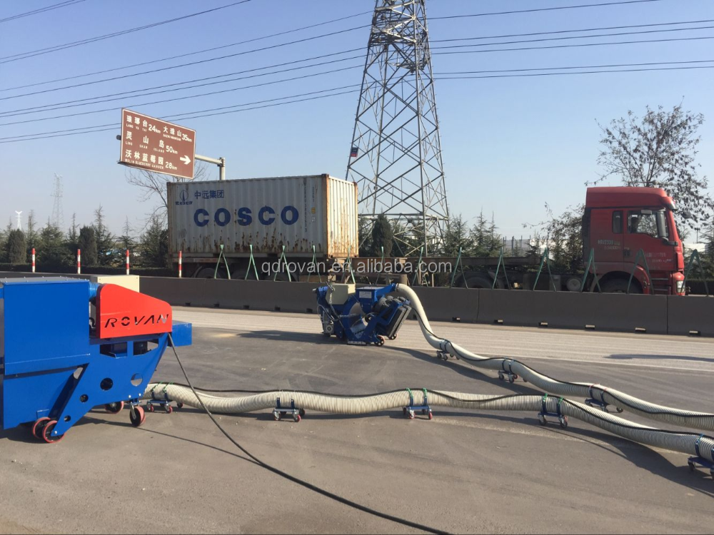 High quality concrete road surface portable shot blasting machine