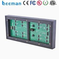 Free shipping leeman P10 led module led name badge alibaba in spain