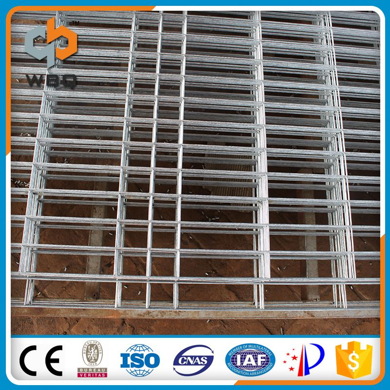 Factory Customize New Design temporary double wire mesh fence