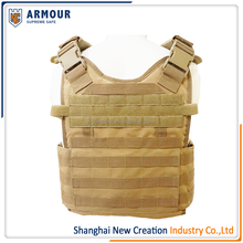 Molle Plate Carrier Military Style Quick Release Body Armor Vest