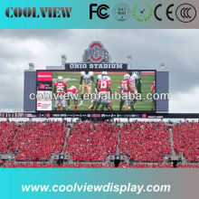 P10 high brightness full color outdoor led display board