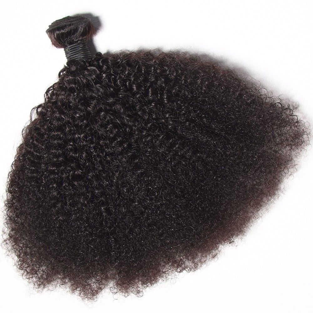 Afro Kinky Human Hair Weaves Factory Supply Directly Human Hair Wholesale