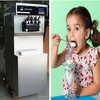 High Quality 3 flavor commercial soft serve ice cream machine ks-5236 /yogurt machine(CE approved)