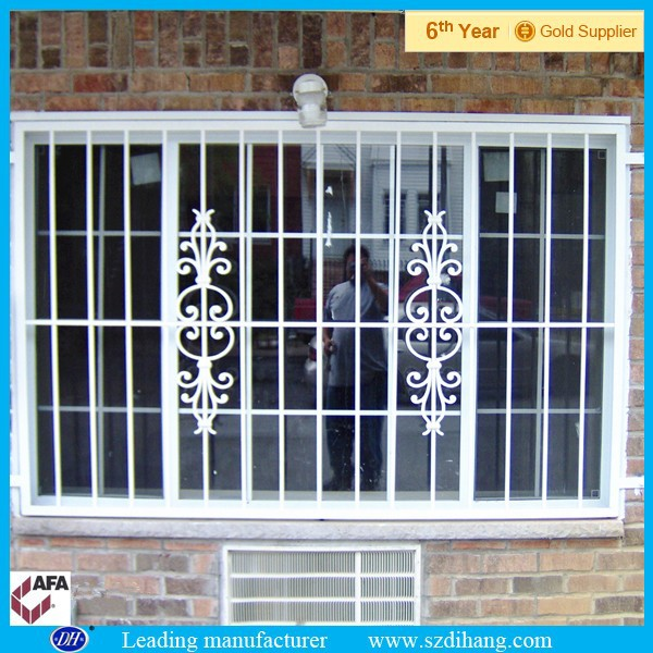 Iron window grill color window grill designs home buy for Iron window design house