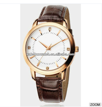 Black jelly leather vogue rose gold men gift fashion wrist watch kors watch paypal accept