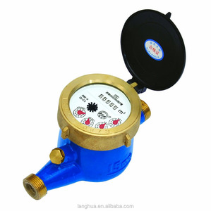 dn 15-50 copper water flow meter