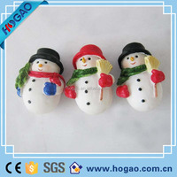 Christmas snowman candle holder decorative gift