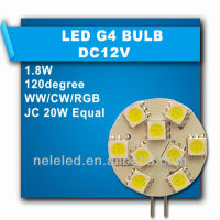high quanlity china cheaper led g4 bulb for cabinet light