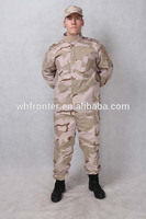 wholesale military surplus camouflage clothing,3-color desert camouflage uniform,Army Jackets and Tactical pants