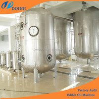 High efficiency peanut/soybean/rapeseed/palm oil refinery machines