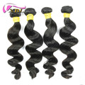 Top quality unprocessed 100% virgin remy peruvian hair loose wave