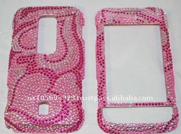 Bling case for Huawei Ascent M860 brand new Crystal Bling Snap on Faceplate Cover Case