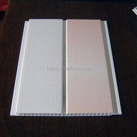 Glossy PVC wall& ceiling panels with groove ,ceiling tiles standard size