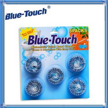 BLUE-TOUCH 50gX2PCS Automatic Clean Toilet Bowl Cleaner Tablets