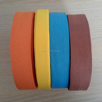 Plain herringbone Twill polyester ribbon