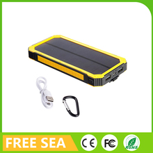 Reliable High Capacity Lithium-Polymer Batteries 6000mAh Special Solar Power Bank External Battery Pack
