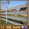 aluminium wpc compostie ranch fence /stockade wood panel/ garden fence trellis