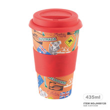 Bamboo Fiber Mug Promotional Take Aways Coffee Cup