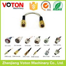 Hot sale F/BNC/UHF/SMA/SMB Male to Male RF Connector