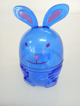 plastic easter bunny egg decoration